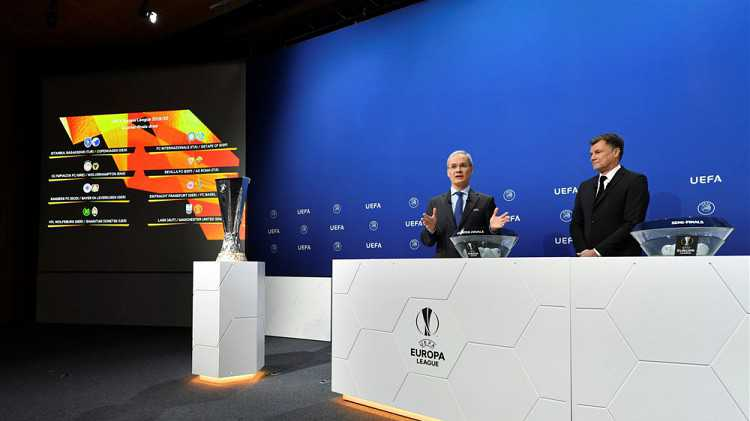LIVE | Loting groepsfase Europa League | Einde loting