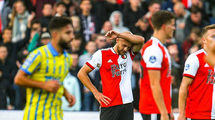 STAND |  Feyenoord fifth after point loss against RKC Waalwijk
